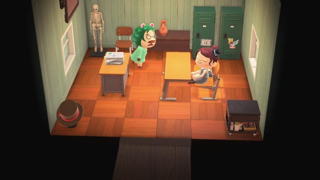 あつ森 ティーチャーの部屋